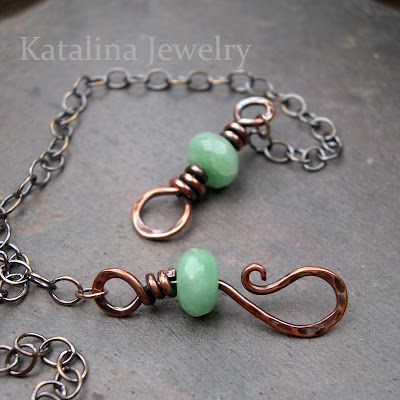 """How to Make a Beaded Hook and Eye Clasp 