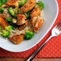 Lighter Sesame ChickenFun Recipe, Lights Sesame, Sesamechicken, Food, Alida Kitchens, Lighter Sesame, Sesame Chicken, Eating, Healthy