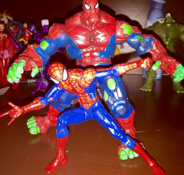 L&A's TOY SHOP/CUSTOMS - ML Spider-Hulk and Infinite Hobgoblin Spiderman