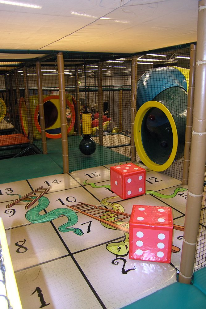 Giant preschool snakes and ladders