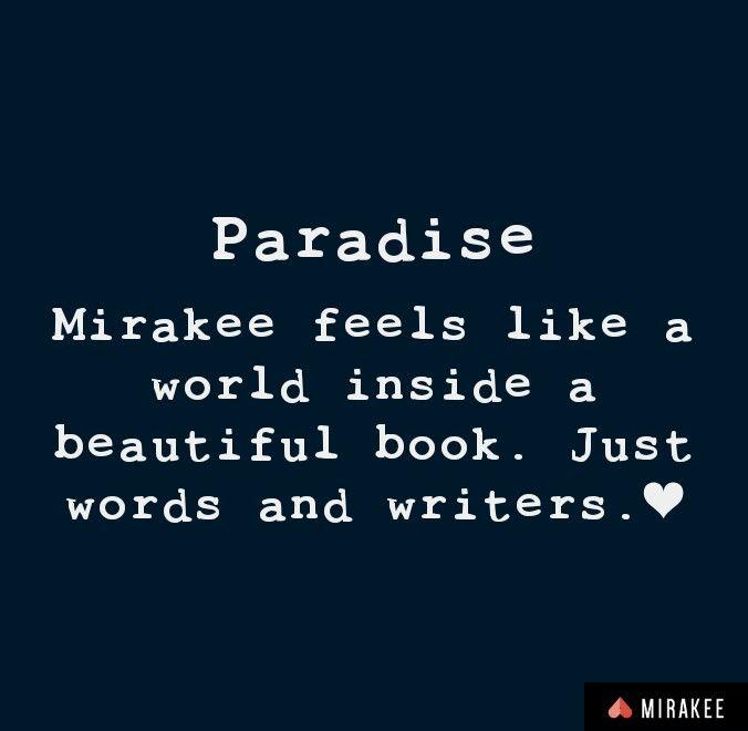 Words breathe on Mirakee.