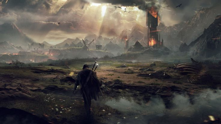 MIDDLE EARTH SHADOW MORDOR action adventure fantasy lotr lord rings warrior online (43) wallpaper background