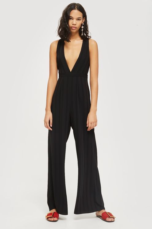 cadc90c4c85 Low Plunge Jumpsuit