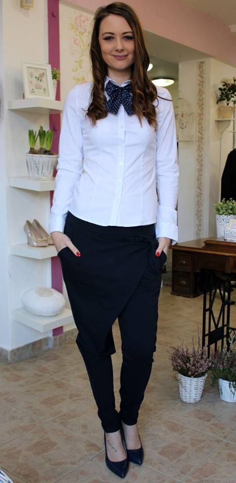 Darkblue trousers