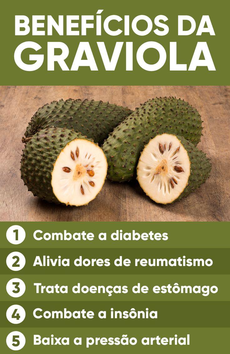 Os benefícios da graviola são, principalmente, combater a prisão de ventre e ajudar a emagrecer porque tem fibras que ajudam a regular o intestino e diminuem o apetite.