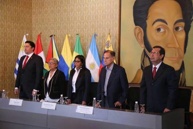 Venezuela entregó la presidencia de Unasur a Argentina http://ift.tt/2of3jIs