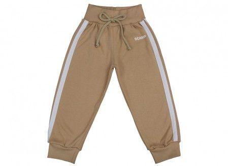 Pantalonaşi cu bandă lată în talie cafea cu lapte 100% bumbac | Cod produs: NID160