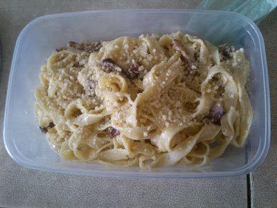Blondynka Gotuje: Spaghetti a`la Carbonarra