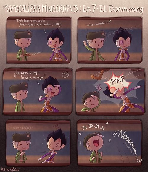 AM3 - El Boomerang (hostión gratuito) | via Tumblr #vegetta777