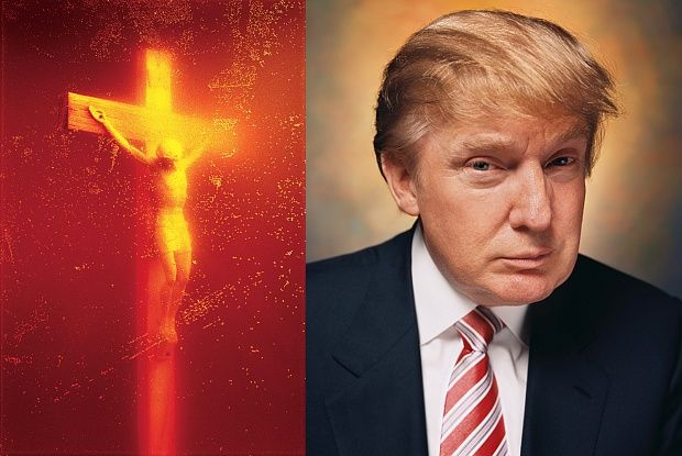 Andres Serrano's contentious Piss Christ to be shown for the first time in Trump's America