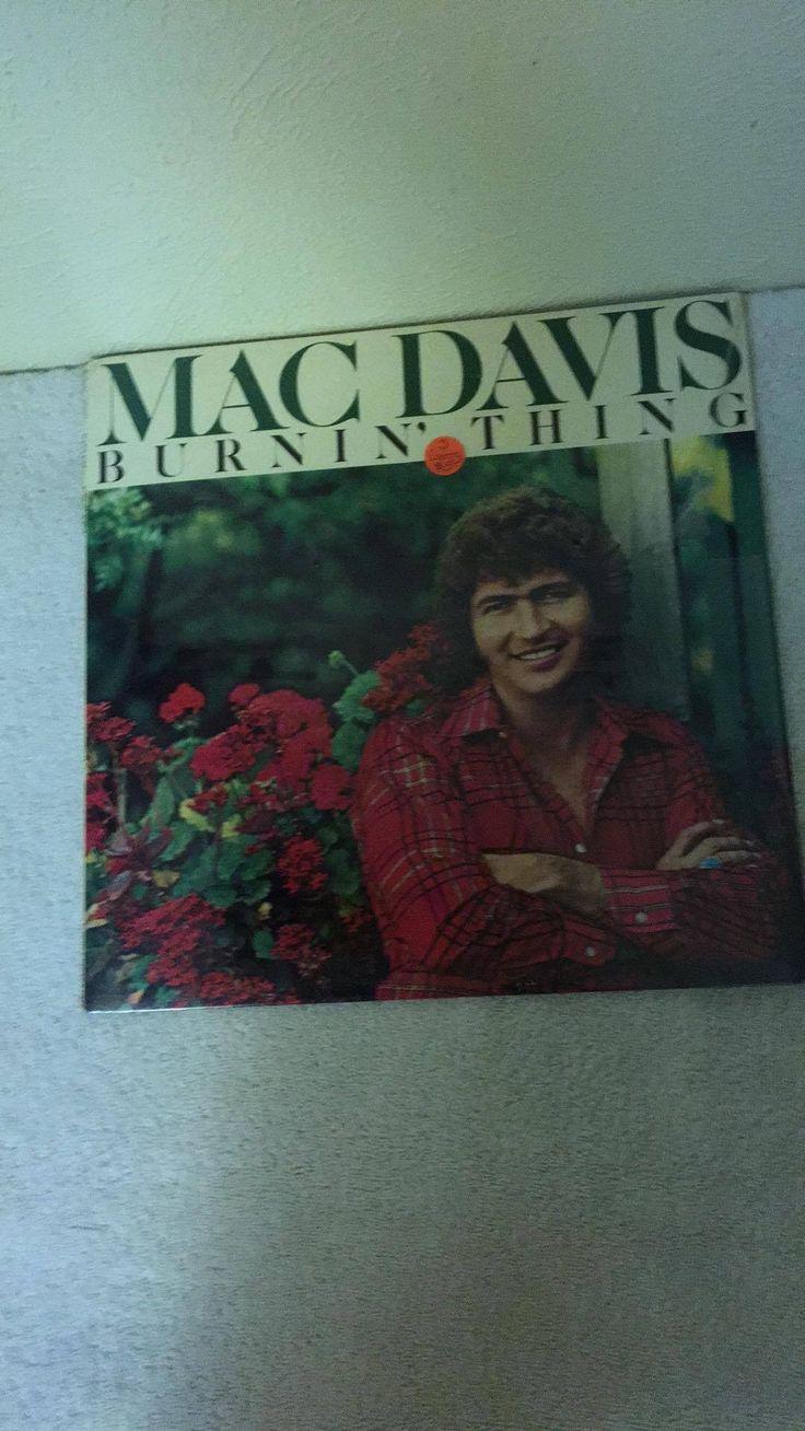 Mac Davis Burnin' Thing PC 33551