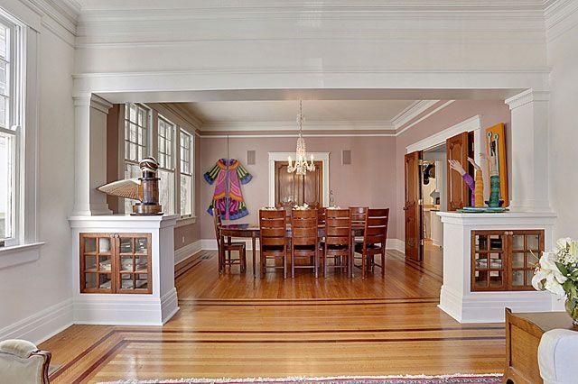 Craftsman Home Interior Design Concept Classy Design Ideas