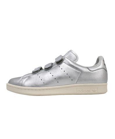 Adidas x Nigo: Stan Smith CF (Silver Metallic / Metallic Silver / Black)