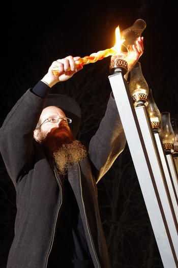 Middletown: Giant Menorah Lighting at Union Park