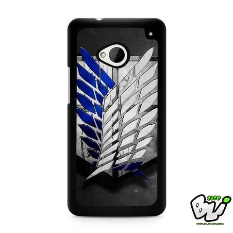 Attack On Titan Military Logo HTC G21,HTC ONE X,HTC ONE S,HTC M7,M8,M8 Mini,M9,M9 Plus,HTC Desire Case