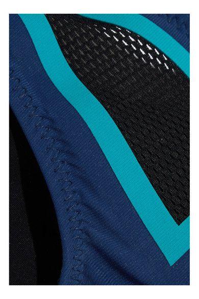 Multicolored stretch-polyamide Slips on 71% polyamide, 29% elastane Machine wash Designer color: Midnight