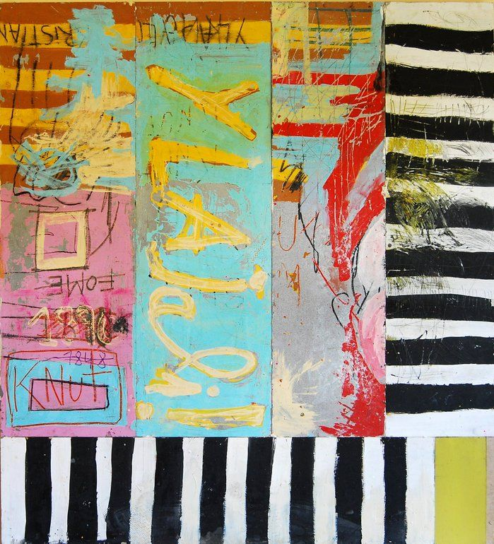 "Saatchi Online Artist: Pedro Basttuz; Mixed Media, 2010, Painting ""YLAJALI! (Knut Hamsun)"""