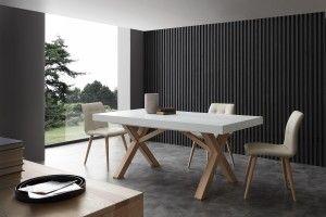 Tavolo Apribile in Frassino Mr Big - Angolo Design