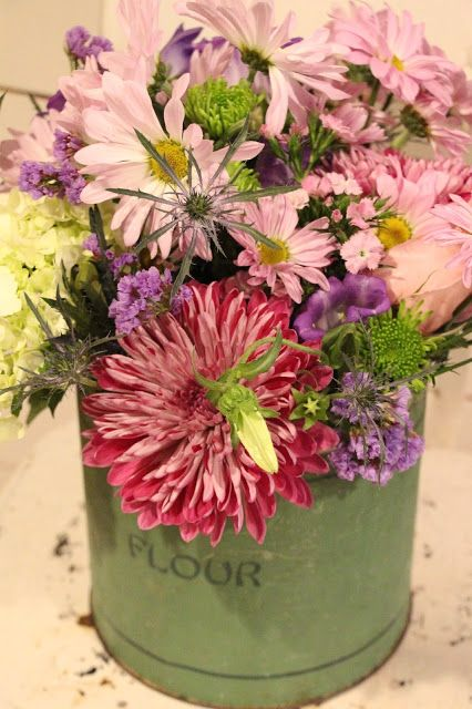 My Sweet Savannah: ~farmhouse flowers~