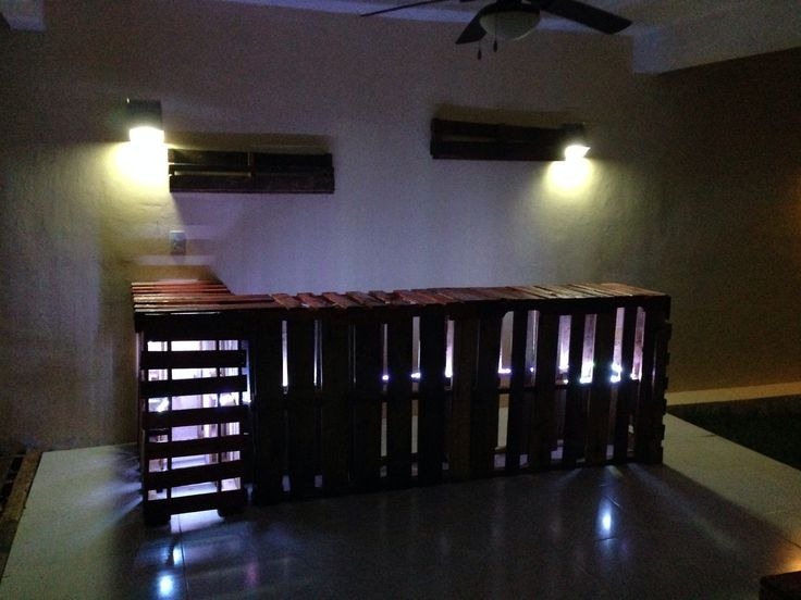 pallets #bar #diy #tarimas de noche  Pallets furniture Muebles de