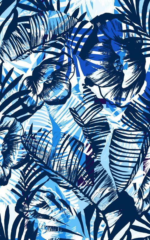 Sharmila Créations: Vendredi déco - Design graphique tropical