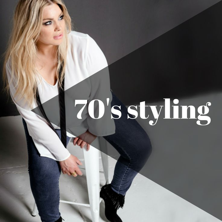 Get it on in 70's style in our LA Woman blouse... – Harlow