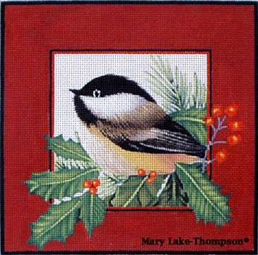 Another Mary Lake Thompson chickadee design.