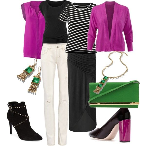 Pink,  Black capsule by nicki-jones-1 on Polyvore featuring Topshop, Fendi, CAbi, women's clothing, women's fashion, women, female, woman, misses and juniors www.sueschuetter.cabionline.com