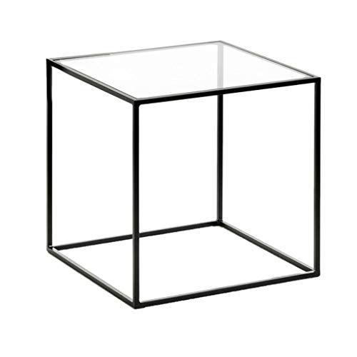 Perfect Furniture Transparent Tea Table, Small Square Living ...
