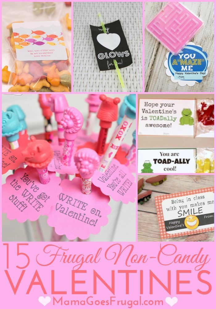 15 Inexpensive Non Candy Valentine Ideas