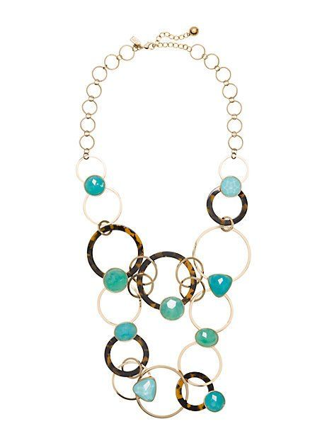 sun kissed sparkle statement necklace - Kate Spade New York