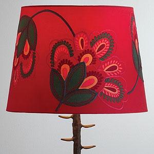 Pretty lamp shade from World Market.