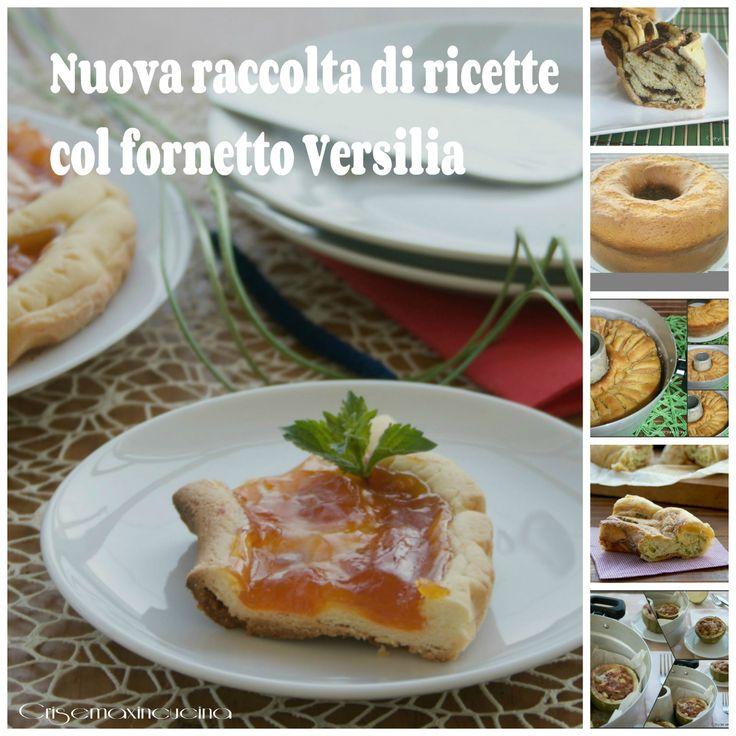 Tante ricette dolci e salate realizzate con il fornetto Versilia