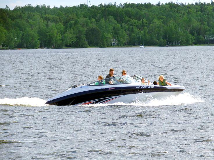 waterfront properties lake boating photo