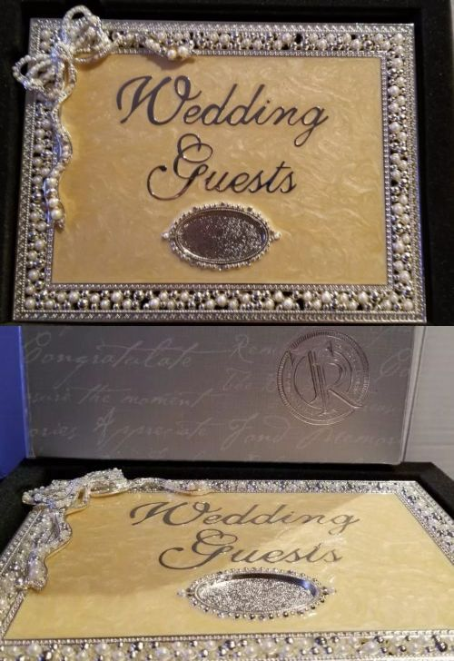 Guest Books and Pens 20940 Things Remembered Wedding Guest Book