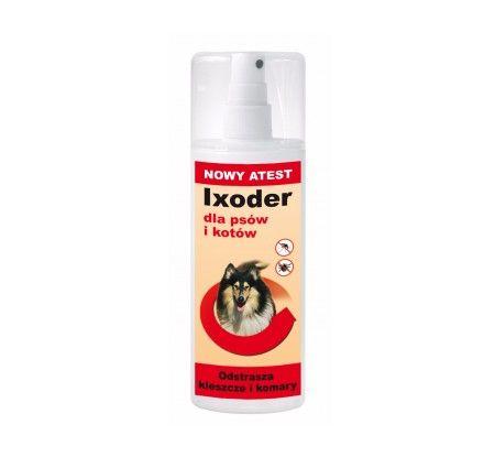 Ixoder. Ixoder wyjątkowo skutecznie zabezpiecza zwierzęta przed inwazją kleszczy i komarów. Chroni je podczas spacerów po lasach i łąkach; w czasie polowań; we wszystkich innych sytuacjach, w których są szczególnie narażone na inwazję pasożytów i wymagają zwiększonej ochrony.