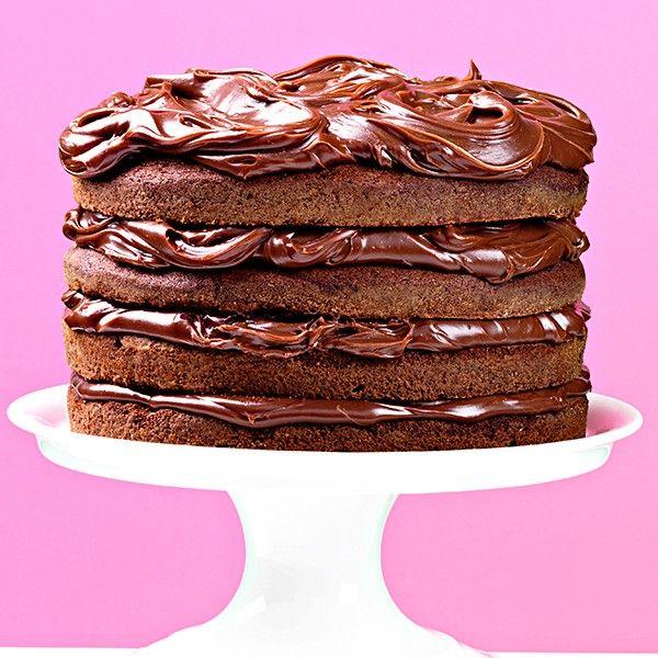 Best ever chocolate layer cake | Recipe | Layer cake ...
