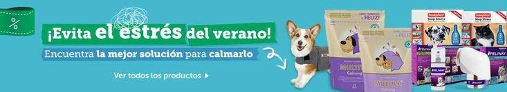 ★Llego el #verano y con él también el #ruido, un ritmo de vida agitado o #dueños ausentes, entre otros. Cada vez es más común encontrar casos de #estrés en #perros y #gatos. www.theanimallshop.com quiere enseñarle una serie de productos #naturales que #calman y evitan la #ansiedad y #estrés en perros y gatos. ➳Multiva: Ver: http://bit.ly/1NjiaUE ➳Feliway: Ver: http://bit.ly/1KbFF1W ➳Stop Stres: Ver: http://bit.ly/1FCJI14