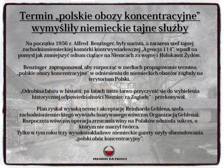 """Interpelacja w sprawie skandalicznego i karygodnego sformułowania """"polskie obozy koncentracyjne"""""""