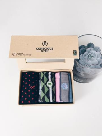 Conscious Step Sock Collection  - HIV, Trees, Hunger  #ethical #fashion  https://threadharvest.com.au/collections/all-mens-clothing