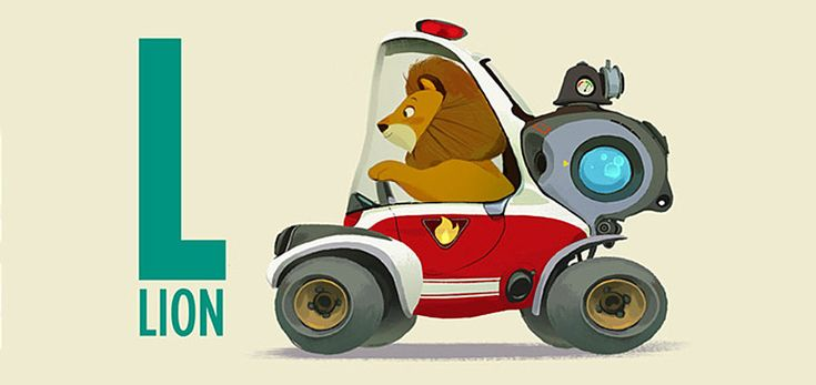 ZOOM ZOO concept vehicle illustrations by Mike yamada