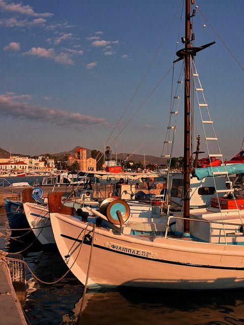 Aegina island, Saronic Gulf, Greece