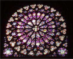 Notre Dame. Roseton.