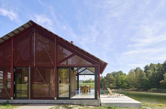 Cabin Sandefjord R21 Arkitekter Avec Images Architecte