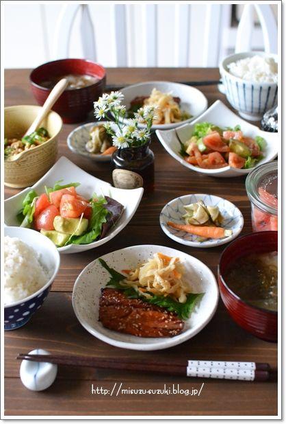 和定食で朝ごはん : 鈴木美鈴オフィシャルブログ「心と時間にゆとりが ... DSC_8220