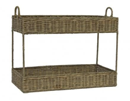 Two+Tier+Tray+Rattan.+A+Block+and+Chisel+Product.