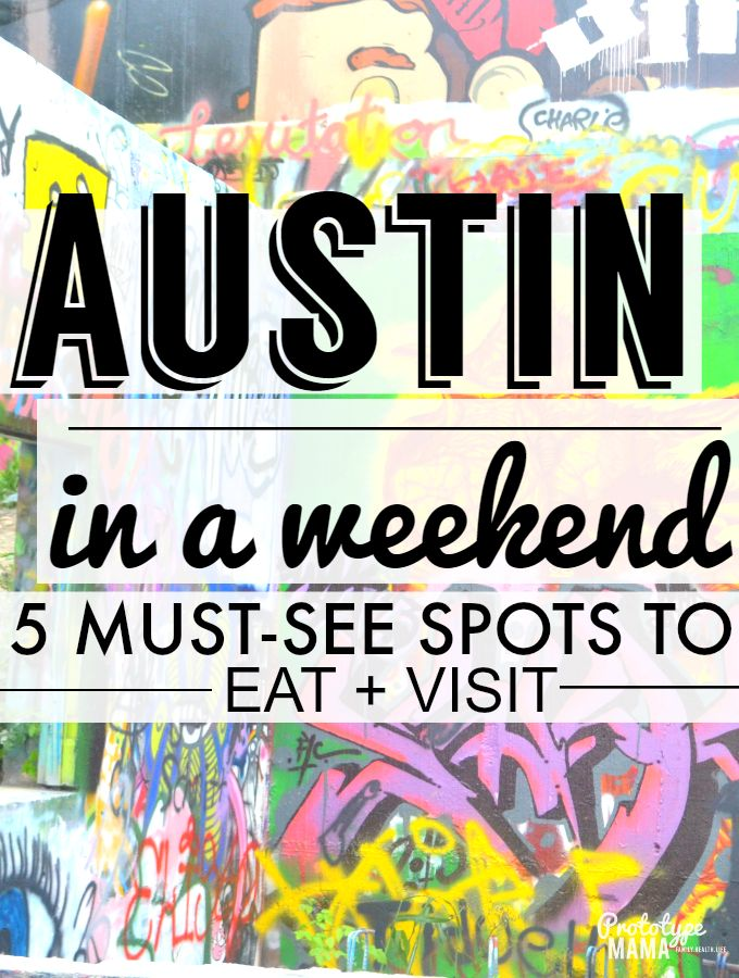 Austin in a Weekend. Good food and place recs, like hope outdoors gallery aka graffiti park