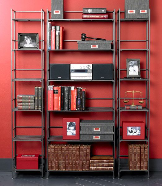 The Container 6 Shelf Iron Folding Tower