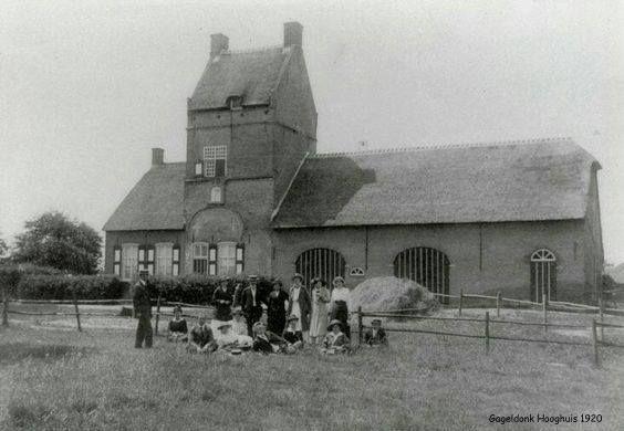 Anno 1920 - Het Hoog Huis - Gageldonk Breda.