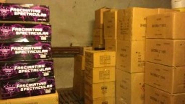 6000 kilo illegaal vuurwerk in schuur in Ede